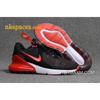 Nike Air Max 270 Men Black Red New Style