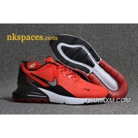 Nike Air Max 270 Men Red Black White New Year Deals