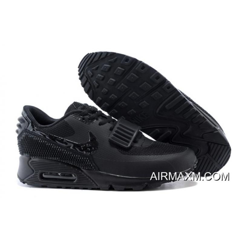 d8ed607aacbef Authentic Nike Air Max 90 Air Yeezy 2 SP All Black ...