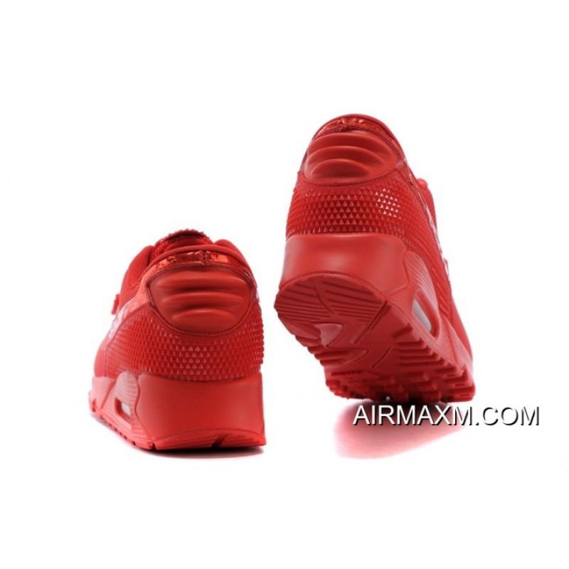 cheap for discount 2756f 061ff ... Free Shipping Nike Air Max 90 Air Yeezy 2 SP All Red ...