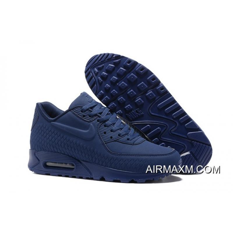 best sneakers 32584 f7f68 Nike Air Max 90 Woven Dark Blue Online