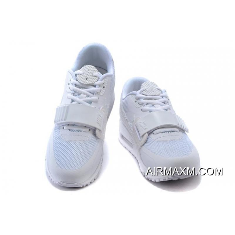 check out 1ee8b e2ca1 Nike Air Max 90 Air Yeezy 2 SP All White Women Latest