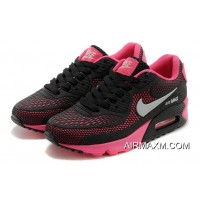 Nike Air Max 90 Essential Black Pink Women New Style