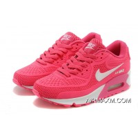 New Release Nike Air Max 90 Essential Pink White Women
