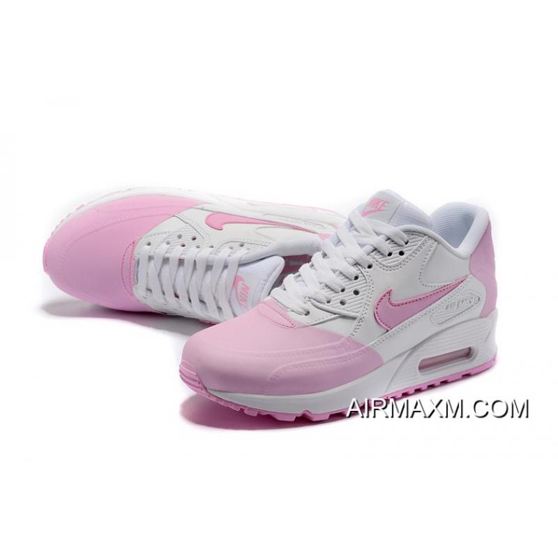 new products dcfd2 9a9a3 Women Nike Air Max 90 Premium SE Pink White Buy Now