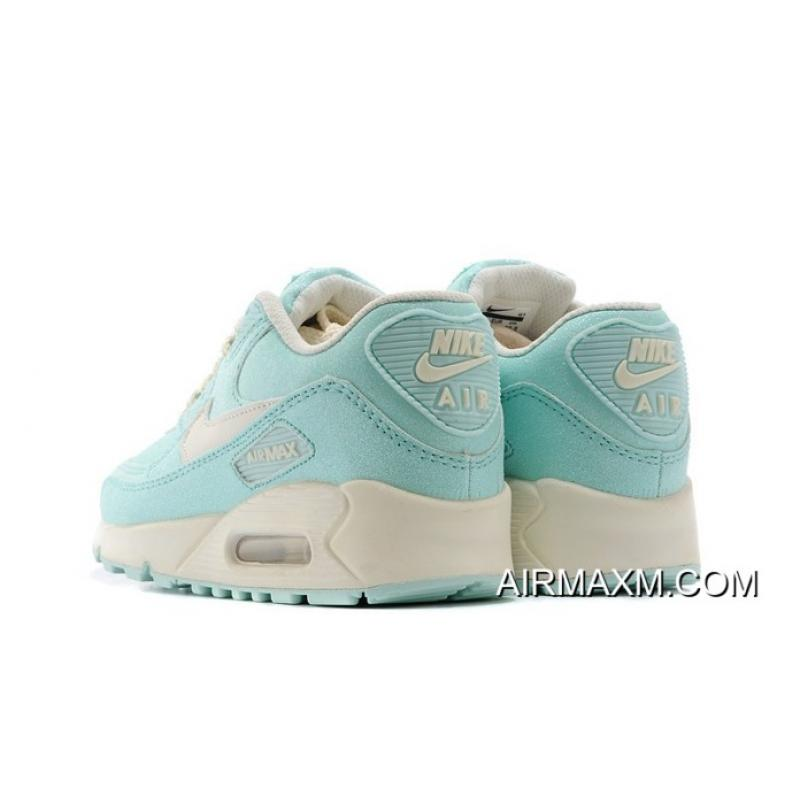 reputable site 1af01 94e51 ... Nike Air Max 90 Sequins Women Light Blue Training Shoes Buy Now ...