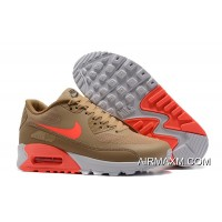 Nike Air Max 90 Ultra 2.0 Essential Women Rice Yellow Ornage Red Best