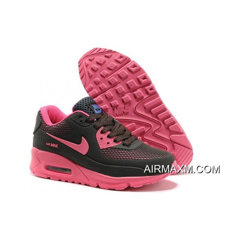 cheap for discount 7d13e b4437 Nike Air Max 90 Women Shoes Black Pink For Sale ...
