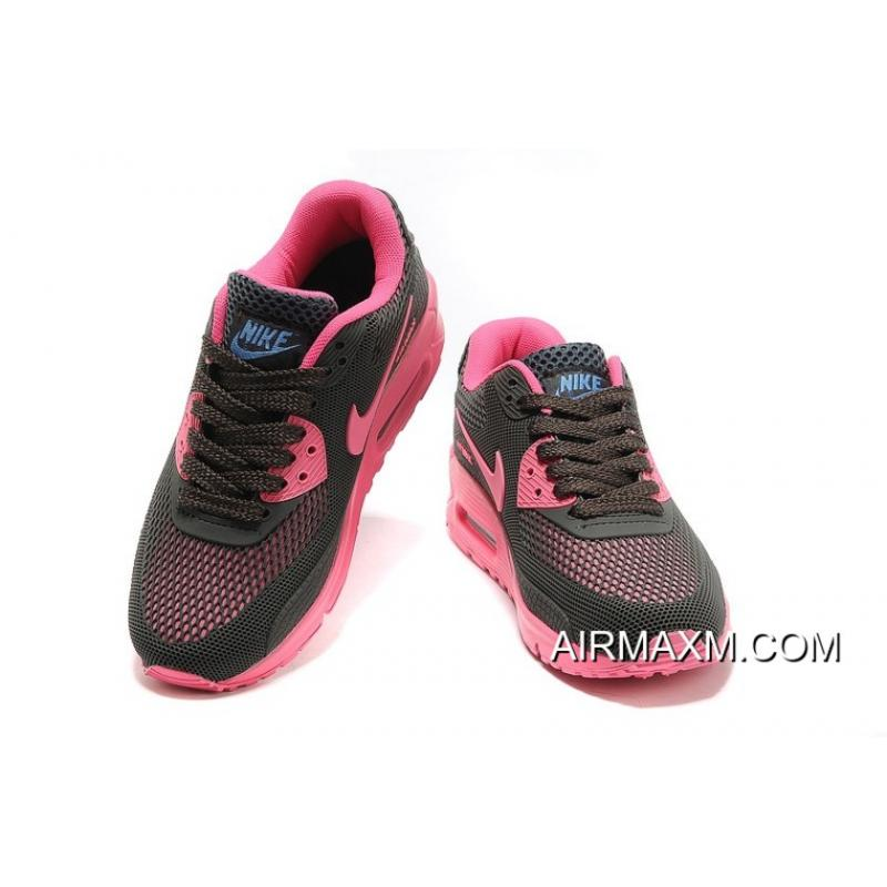 save off 41329 44abf ... Nike Air Max 90 Women Shoes Black Pink For Sale ...