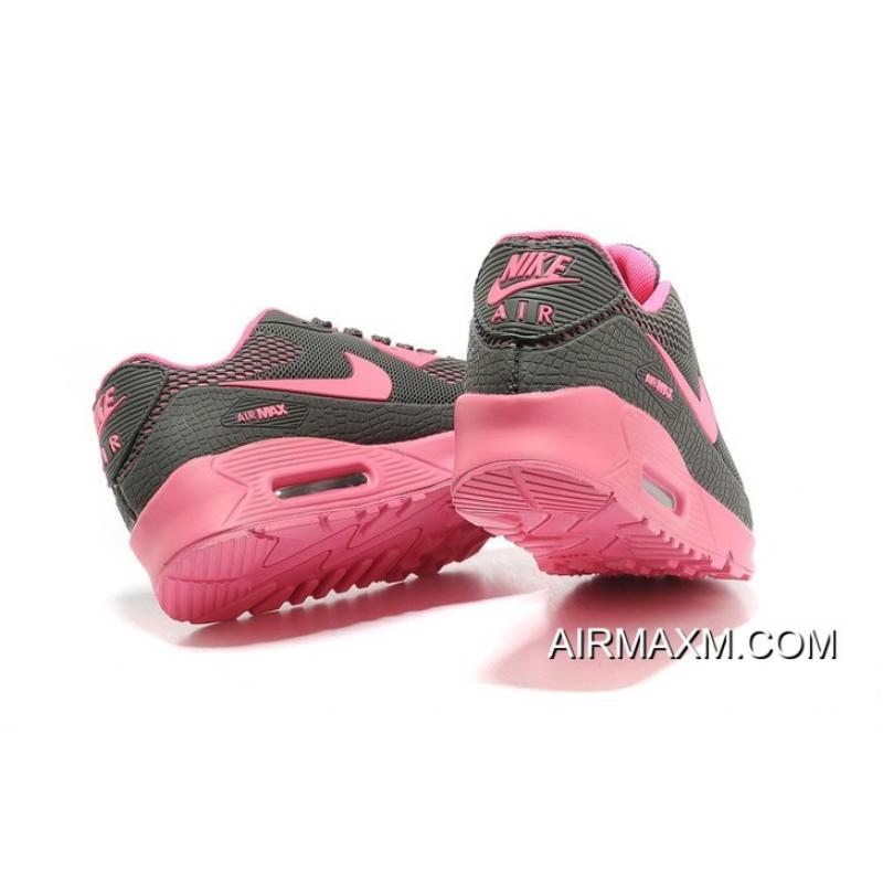 online store 7a3c1 e14b4 ... Nike Air Max 90 Women Shoes Black Pink For Sale