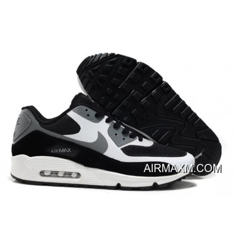 new arrival 71097 40427 New Release Nike Air Max 90 Hyperfuse Men White Black Grey, Price ...