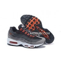 Outlet Nike Air Max 95 20th Anniversary Men Black White Orange