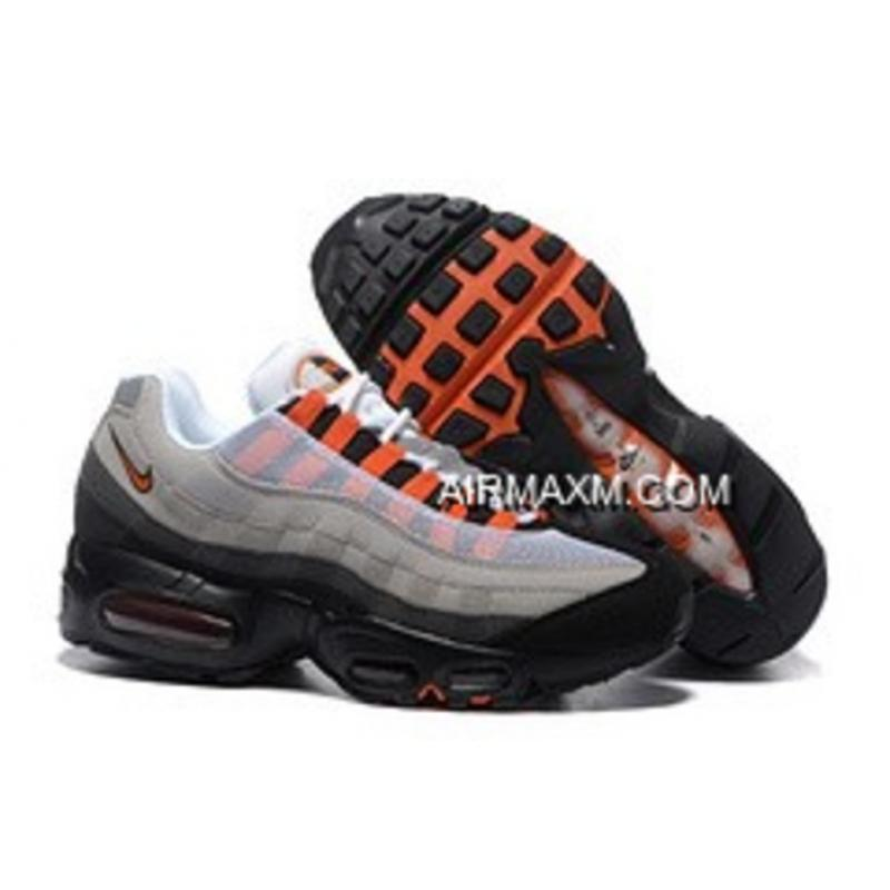 meet 370d7 7832b Big Discount Nike Air Max 95 20th Anniversary Men Orange Black ...