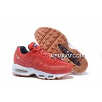 Nike Air Max 95 20th Anniversary Men Shoe Red Free Shipping