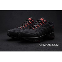 Latest Nike Air Max 95 Black Red Men Shoe