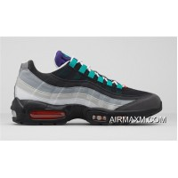 Nike Air Max 95 Blue Black Grey Red Super Deals