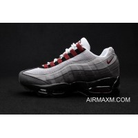 Latest Nike Air Max 95 Grey Red Black