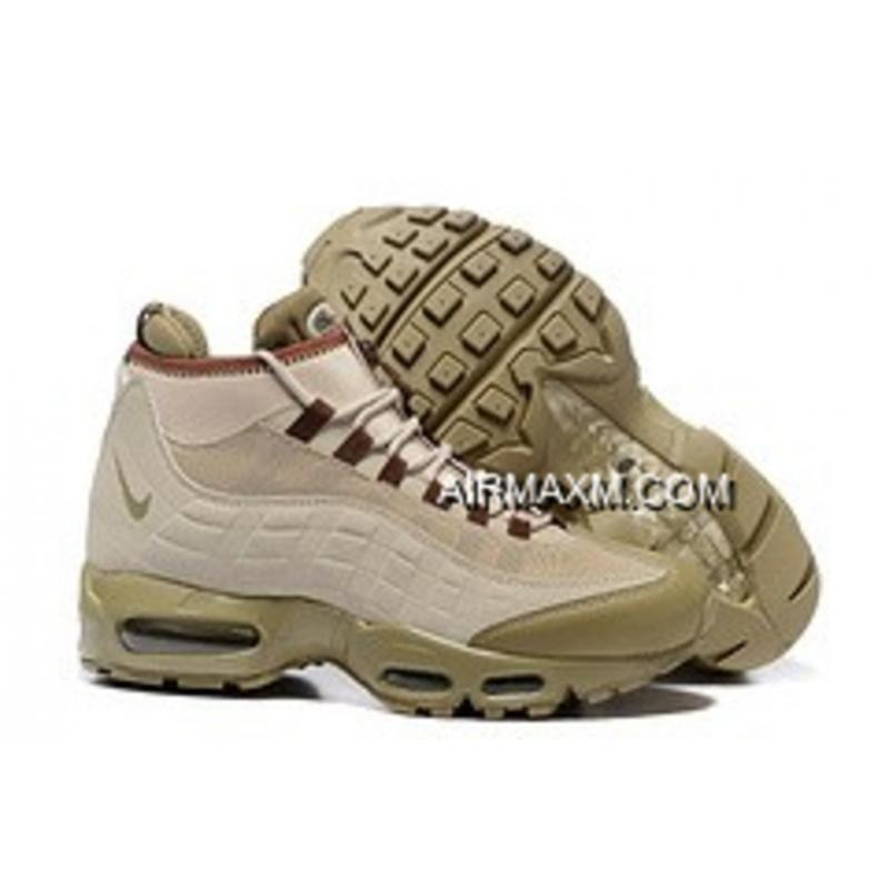 new arrival ccefe 2e8c8 Free Shipping Nike Air Max 95 Sneakerboot Desert Style