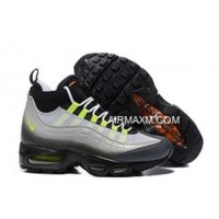 Nike Air Max 95 Sneakerboot Green Grey Black New Year Deals