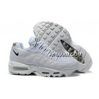 Stussy X Nike Air Max 95 Essential Men Shoe White Grey Buy Now