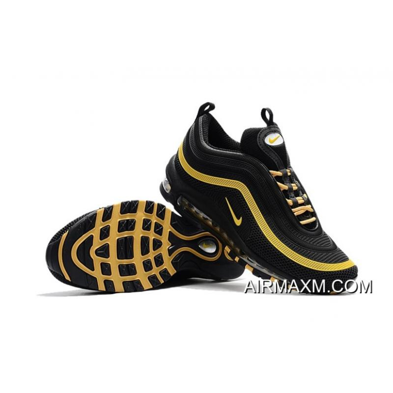 finest selection 80a03 fec42 For Sale Nike Air Max 97 KPU Black Yellow
