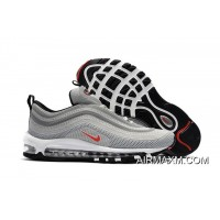 Nike Air Max 97 KPU Light Grey Red White New Style