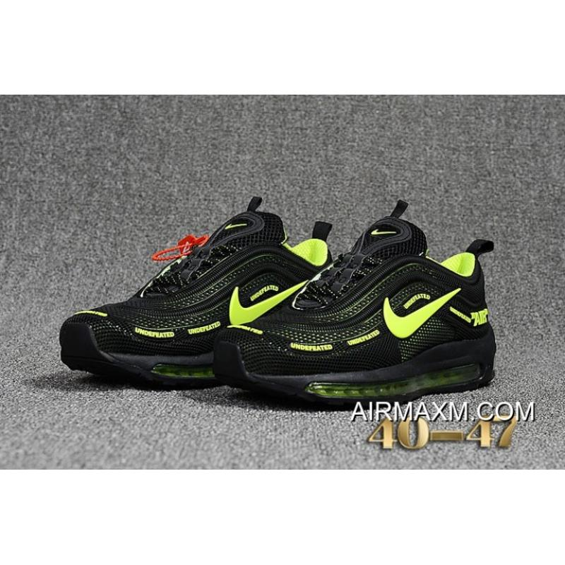 a10f962672 Online Nike Air Max 97 Undefeated KPU Black Green, Price: $67.90 ...