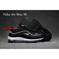 Nike Air Max 98 Black White Shoes New Release