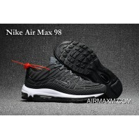 Nike Air Max 98 Gray Black Shoes New Release