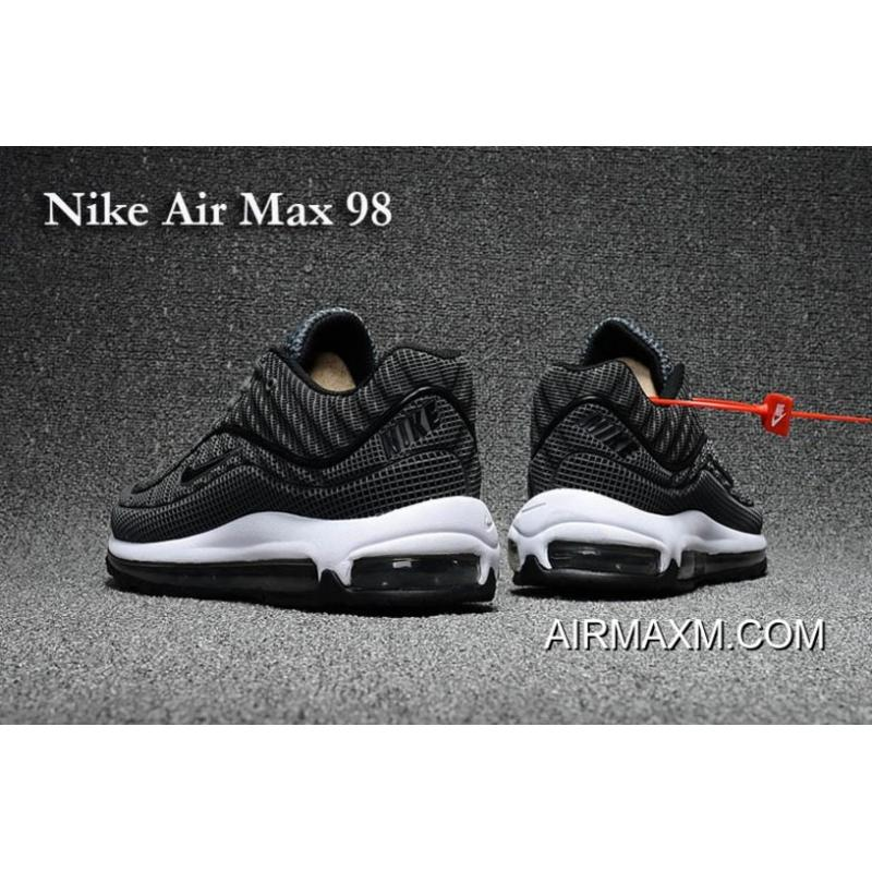 2e235951c31 ... Nike Air Max 98 Gray Black Shoes New Release ...
