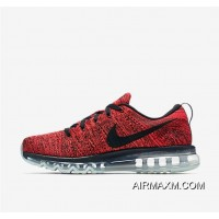 New Style Flyknit AirMax Red Black Grey