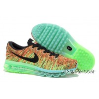 Flyknits Air Max Black Gold Green New Release