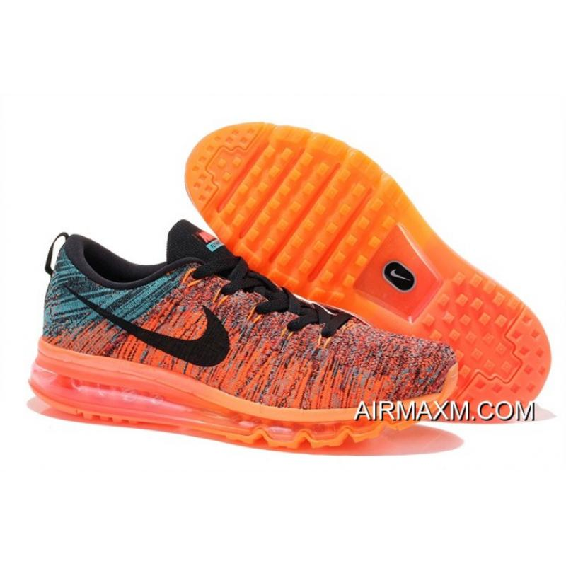 more photos 4763d c42f3 Flyknits Air Max Blue Orange Black New Style ...