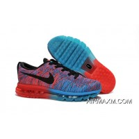 Flyknits Air Max Orange Blue Black Red Best