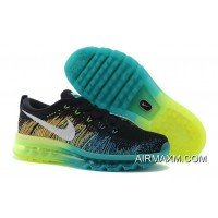 Best Nike Flyknit Air Max Black Water Blue Green