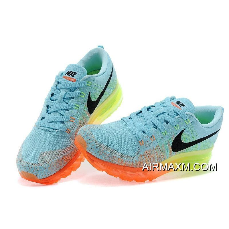 sports shoes c0571 6f495 ... Nike Flyknit Air Max Women Pink Blue Orange Black Where To Buy