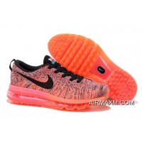 Women Nike Flyknit Air Max Ultra Stamping Red Mango Yellow Super Emerald Green Black New Year Deals