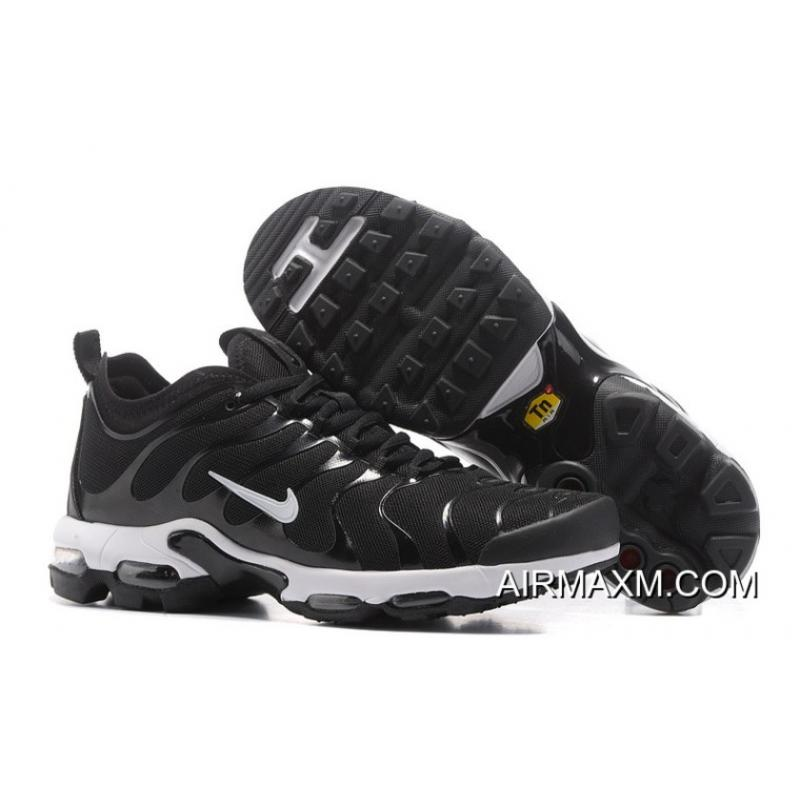buy popular 709a8 cce1f Discount Nike Air Max Plus Ultra TN Black White ...