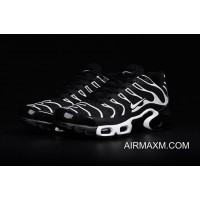 New Style Nike Air Max TN Leather Black White Shoes