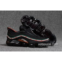 Nike Air VaporMax 97 Black Green Red New Style