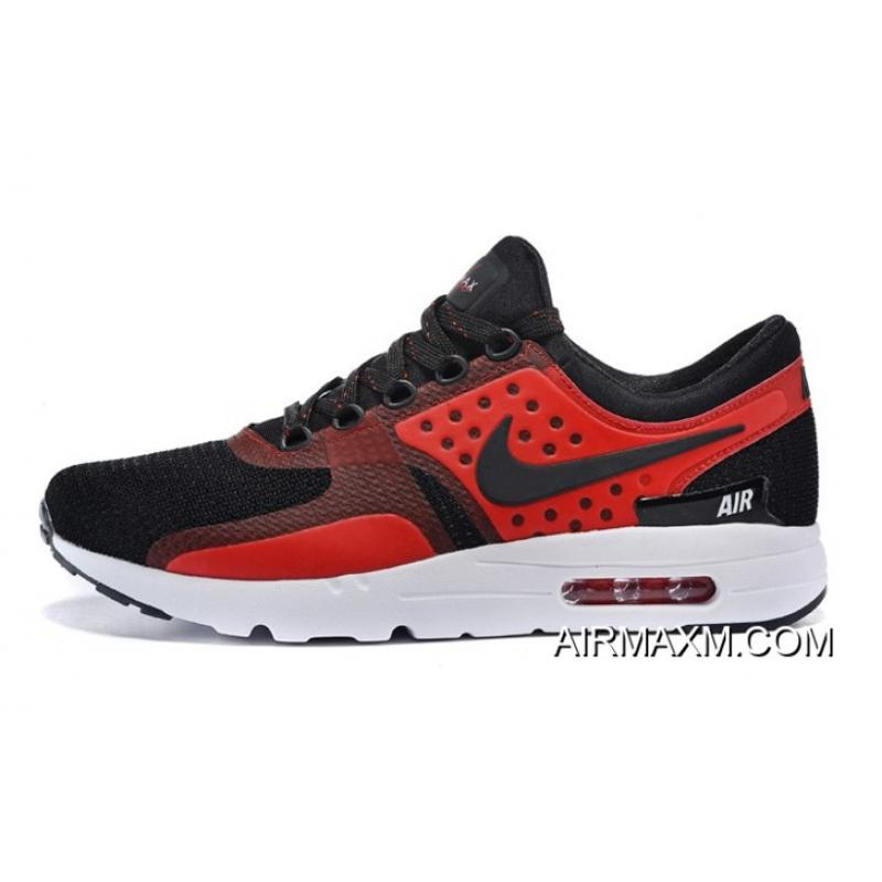 reputable site 594c3 64173 New Release Nike Air Max Zero QS Black Red ...