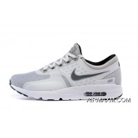 New Release Nike Air Max Zero QS White Black