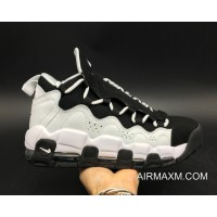 Women/Men Nike Air More Money Black White Buy Now