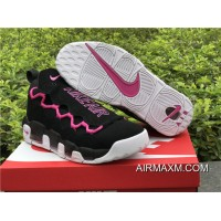 Women/Men New Year Deals Sneaker Room X Nike Air More Money Black / Pink