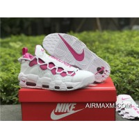Women/Men Outlet Sneaker Room X Nike Air More Money White / Pink