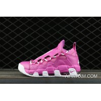 Women/Men Nike Air More Money Qs X Sneaker Room Tink Pink Rare New Release