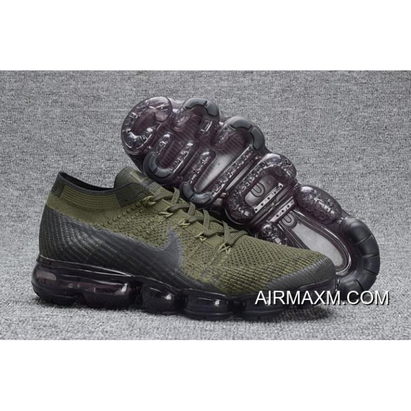 Air Vapormax Flyknit Amry Running Shoes New Style ... 349bec39d