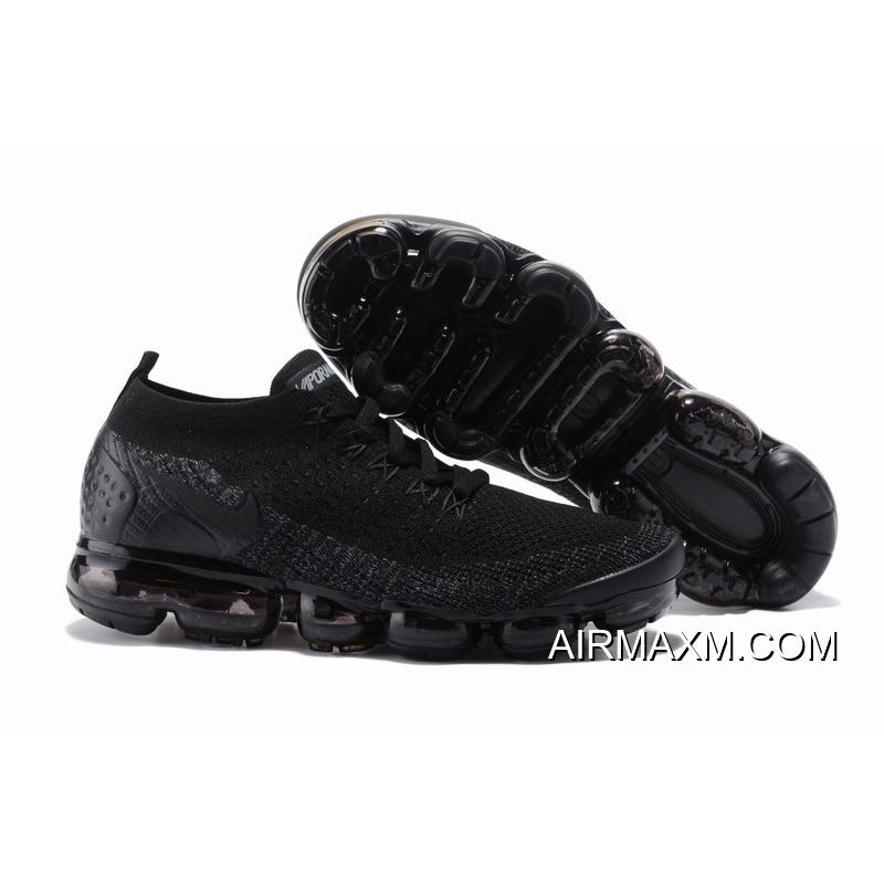 Best Nike Air VaporMax Flyknit 2 All Black ... 1ed258a64