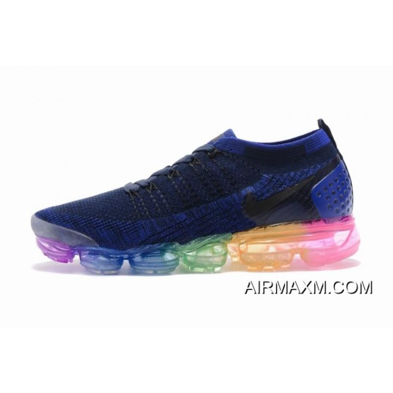 83537383db Nike Air VaporMax Flyknit 2 Navy Blue Colorful Online, Price: $95.93 ...