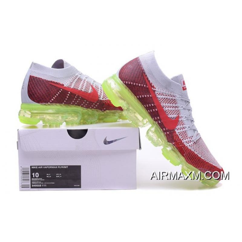055ce1cd55062 ... Nike Air Vapormax Gray Red Green Latest ...